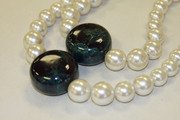 Yves St. Laurent Bakelite and Pearl Necklace