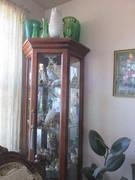 Corner cabinet of smalls