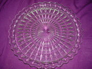 "Jeannette Glass Co. 10"" Plate"