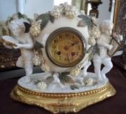 Geo. E. Butcher Mantle Clock
