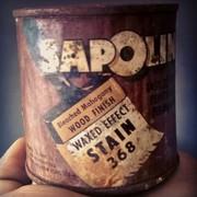 Sapolin Wood Finish Stain 368 1946