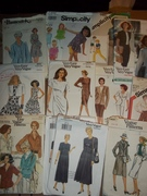 Patterns, dresses pants tops blouses shorts gowns Sewing patterns
