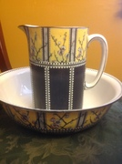 Antique Royal Staffordshire Wash Basin and Pitcher