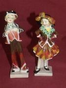 Royal Doulton Pearly girl & Pearly boy figurines