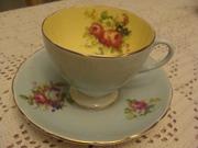 Foley Floral tea cup & saucer