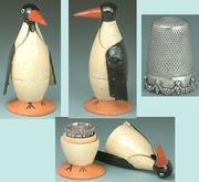 Penguin Thimble case & ETUI