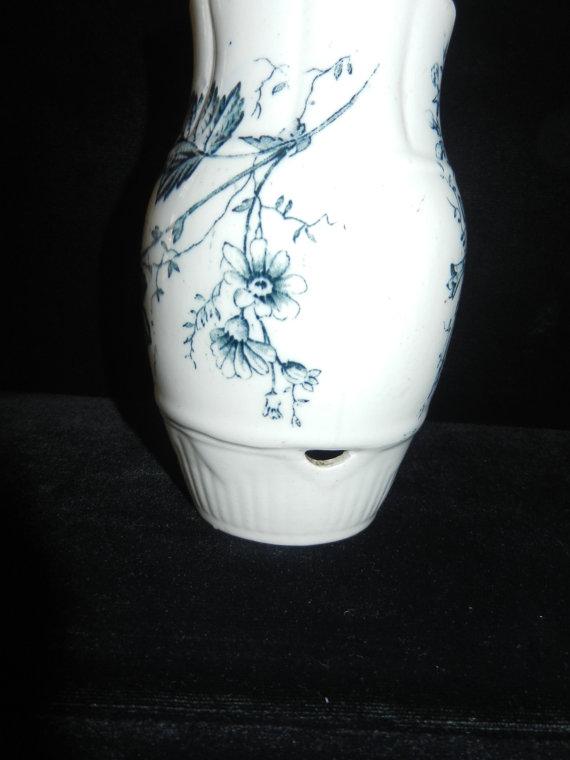 Porcelain Vase - View of Drainage Hole on Bottom