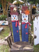 Holiday scarecrows..$18 each