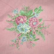 Vintage 30s Cotton Decorator Fabric