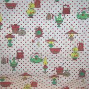 Vitnage Cotton Kitchen Curtain Fabric