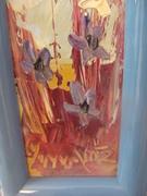 Morris Katz painting NY listed artist