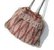 Antique Beaded Reticule Flapper Bag