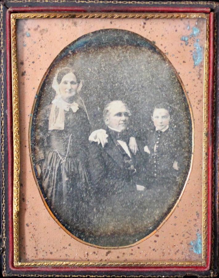 Daguerreotype of Family