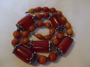 Art Deco Bakelite necklace (b)