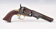 Engraved Colt Model 1849 Pocket Revolver