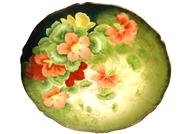 Antique Tirschenreuth Bavarian Porcelain Hand Painted Plate
