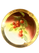 BAVARIAN CHERRIES CABINET PLATE