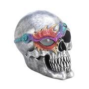 Halloween Burning Skull