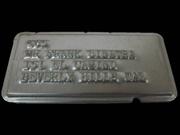 Embossed Charga-Plate Token belonging to legendary singer, Frank Sinatra (1915-1998)