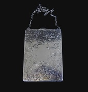 Antique Sterling Silver Ladies Compact