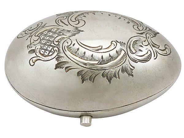 Antique Russian Silver Purse Circa 1900