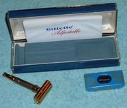 1960 NOS Gillette Toggle w Case Blades F4 (89)