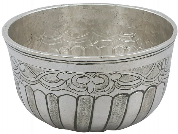 Antique Russian Silver Drinking Bowl