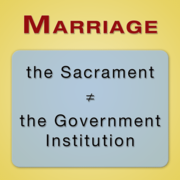 Any Theist Opposes Same-Sex Marriage, Show 'em This