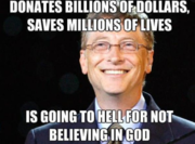 Bill Gates is going to hell