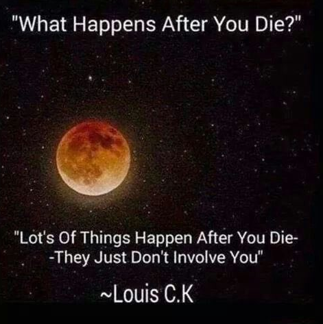 The truth about when you die