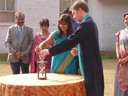 Hourglass Sand Ceremony at Wedding in India