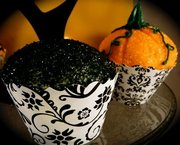 Couture Cupcake Wrappers - Halloween Fun!