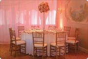 W Drapings Florida // Ceiling Drapings & Wedding Chiffon