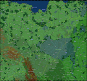 Poland map from 'The First Blitzkrieg'