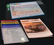 Income, Year, Turn Sheet, player sheets, Rules