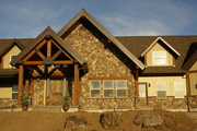 Customized Home with Hardie Board Siding, Whisper Creek Log Homes