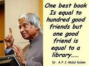 Avul Pakir Jainulabdeen Abdul Kalam's Quotes About Library