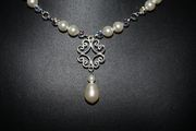 Close up of Tami's necklace