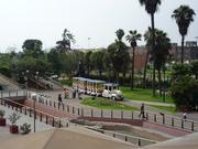 Parque de la Muralla en Lima