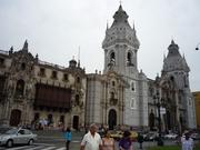 Catedral de la ciudad de Lima-Perú