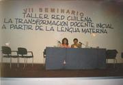 Sonia Alcocer mayorga, invitada con una Ponencia representando a Bolivia.