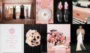 Vintage Glam Pink and Black