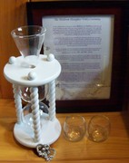 Hourglass Wedding Unity Sand Ceremony Package