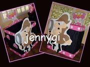 caja de regalos pantera rosa