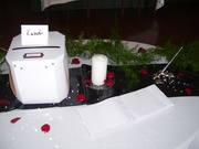Guest Book Table Wedding Reception