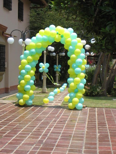 arco de globos pie de cuesta