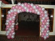 decoracion arco de globos