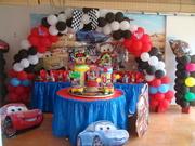 decoracion de cars