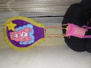 piñata enmtamborada de osita, realizasda por maclervi.gonzalez♥