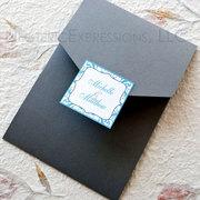 Love in Frames Pocketfold Wedding Invitation
